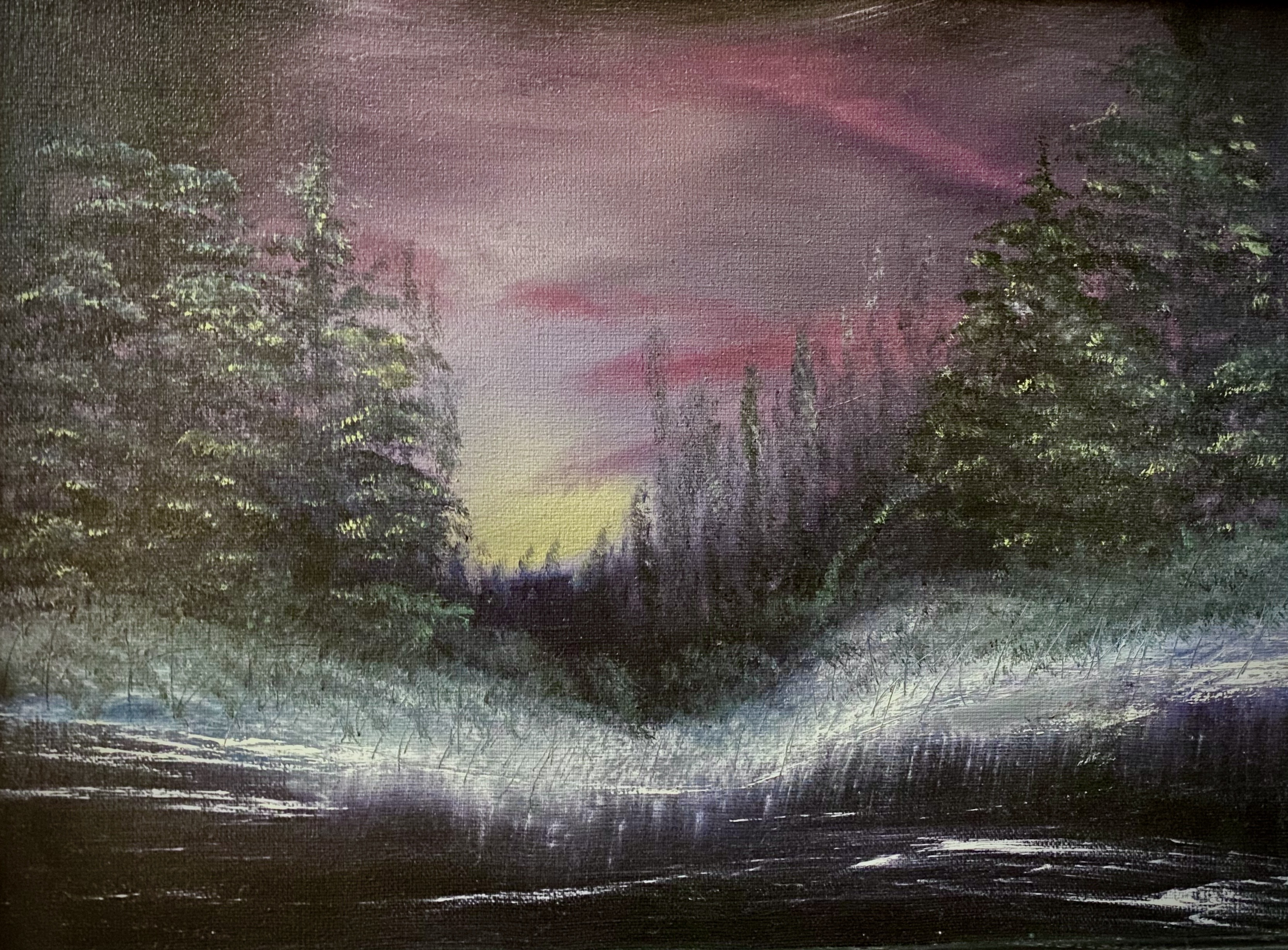 Winter Solace Painting